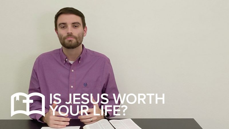 Table Talk: Is Jesus Worth Your Life?