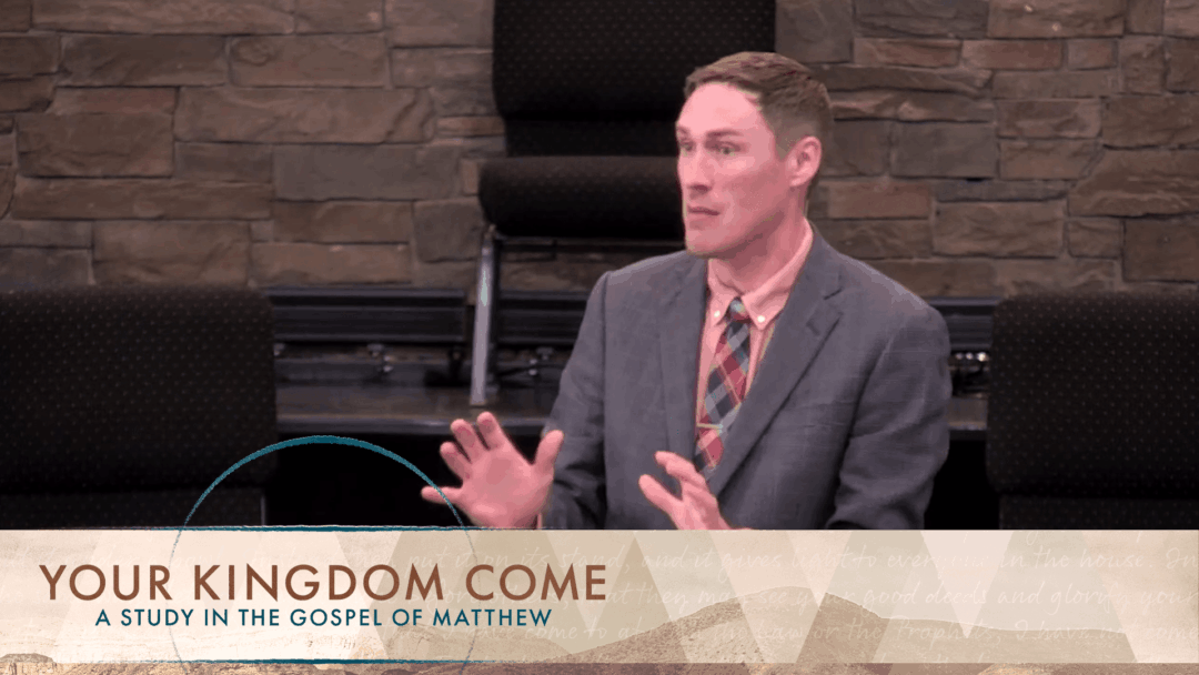 Your Kingdom Come: Reconciliation Among Brothers