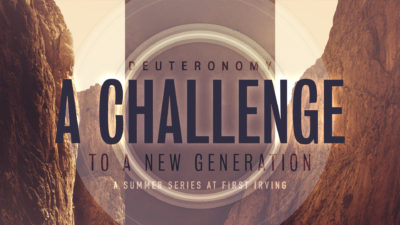 A Challenge to a New Generation